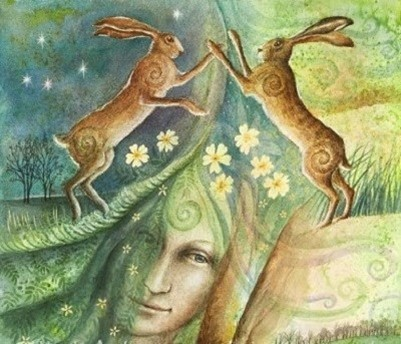 Vernal Equinox - Ostra - Easter - Spring - Passover