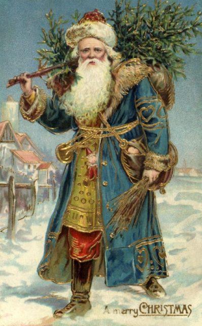 Saint Nicolas - Santa Claus - Saint Nick